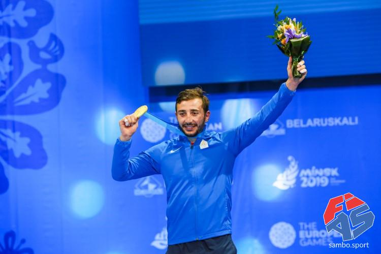 "Levan NAKHUTSRISHVILI: ""It was my Dream to Win a Gold Medal at the European Games"""