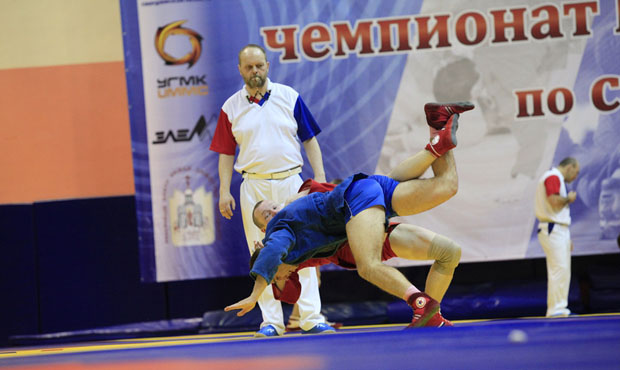 Results of the Russian National Sambo Championship for men