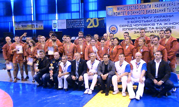 Ukrainian Sambo Cup took place in Uzhgorod