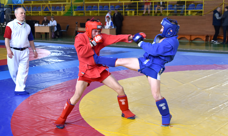 The Team of Lviv Region won the Ukrainian SAMBO Cup