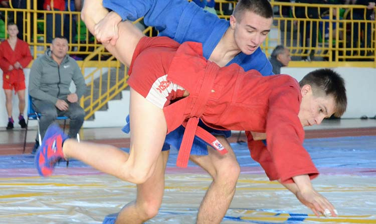 Ukrainian Youth and Junior SAMBO Championships was held in Sumy