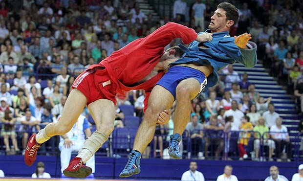 Sambo at the Universiade in Kazan in 2013. Best moments. Finals. Super shots and techniques Sambo