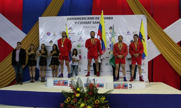 Results of the 2nd day of the Pan American SAMBO Championships in Colombia