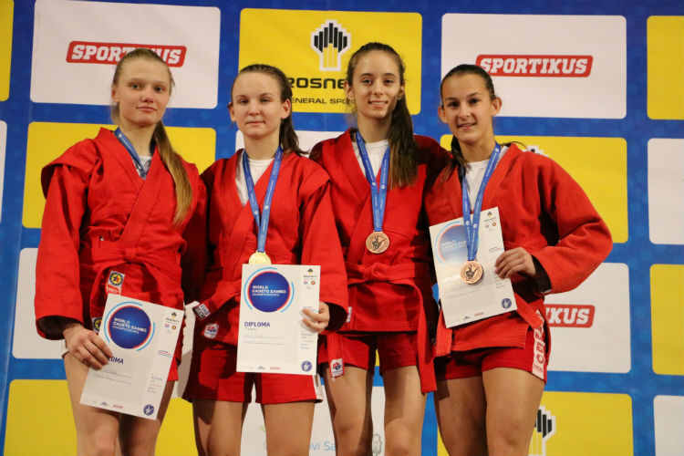 Reflections of the Winners of the 1st Day of the World Cadets SAMBO Championships