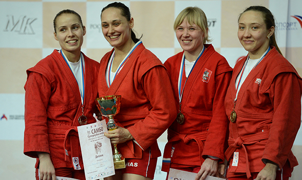"Winners and Prize-winners of the 2nd Day of the Sambo World Cup ""Kharlampiev Memorial"" 2014"