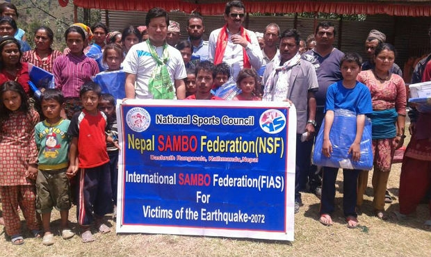 FIAS has sent aid to earthquake victims in Nepal