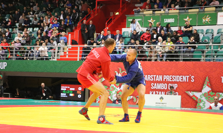 Reflections of the Winners of the 1st Day of the International SAMBO Tournament in Kazan