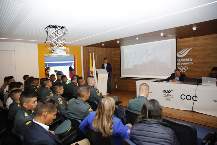 Conference on Development of University SAMBO Held at NOC of Colombia