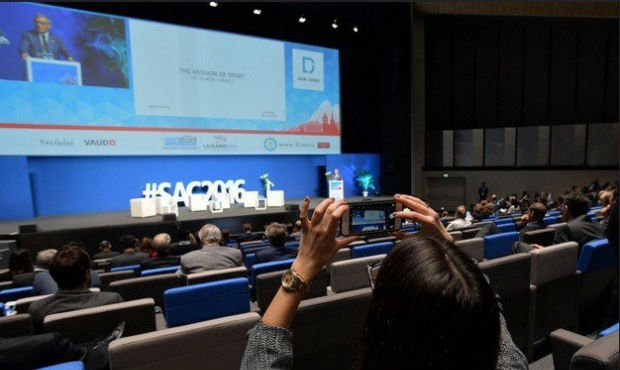 SportAccord Convention in Lausanne: three main events of day two
