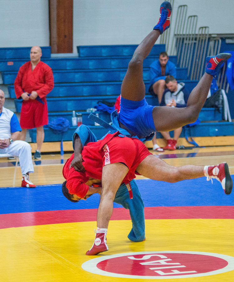 The US SAMBO Championships was held at the Drew University