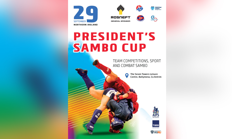 The President's SAMBO Cup Will Be Held In Northern Ireland