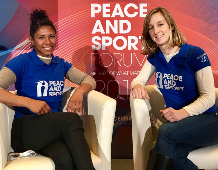 FIAS and Maria Guedez Foundation awarded by Peace & Sport