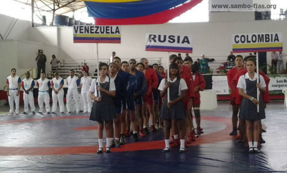 Anna Kharitonova: SAMBO festival in Colombia is in a full swing