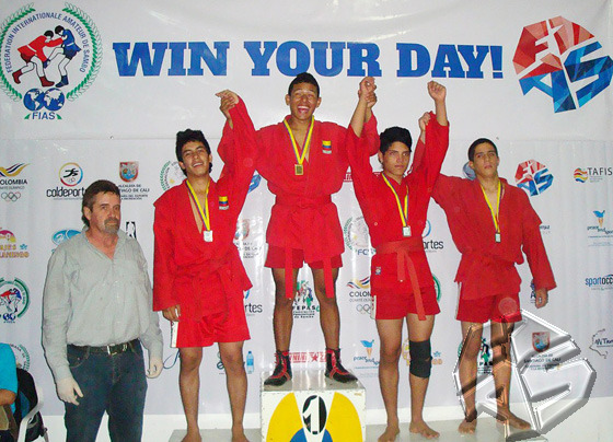 The fifth National Championship in Sports and Combat SAMBO