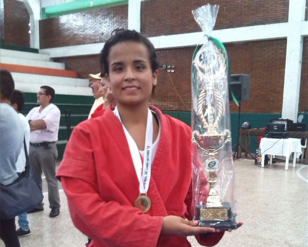 Sambo Championship of Colombia 2015