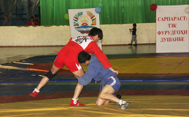 first open republican tournament in sambo for the prizes of Ismat Abdulloev