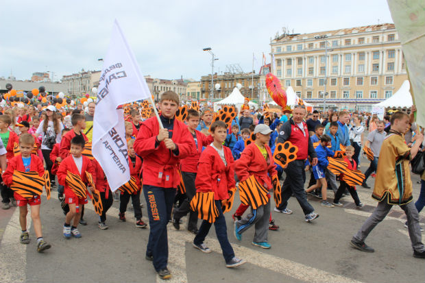 The International Sambo Federation took part in celebrating Day of the Tiger in Vladivostok