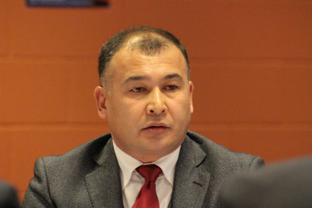 Alamjon Mullayev, FIAS Vice President and President of the Sambo Union of Asia