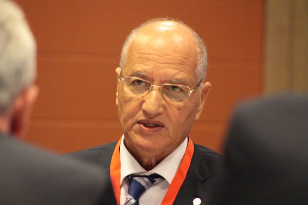 Dalil Scully, FIAS Vice President and President of the African Sambo Confederation