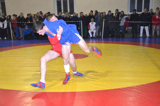 The Ukraine SAMBO Youth Championships took place in Kiev