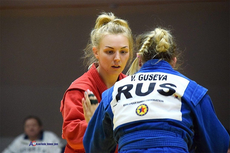 Winners of the Russian SAMBO Cup