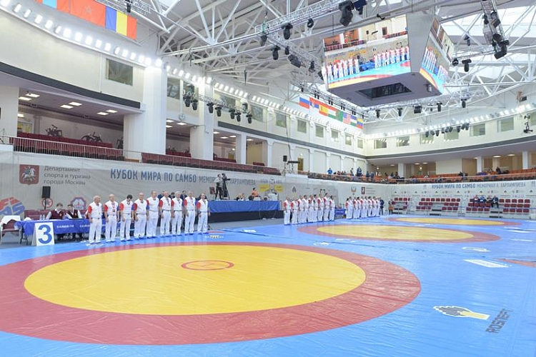 "Draw of the second day of the Sambo World Cup ""Kharlampiev Memorial"" 2018"