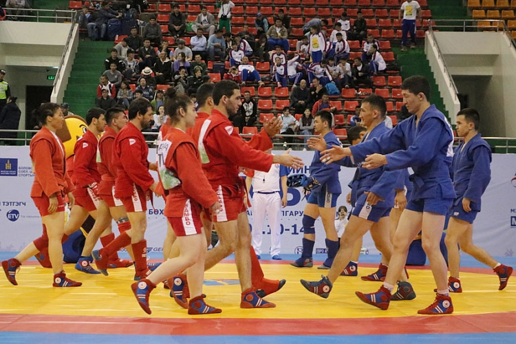 [VIDEO] First Team SAMBO World Cup in Mongolia - Announcement