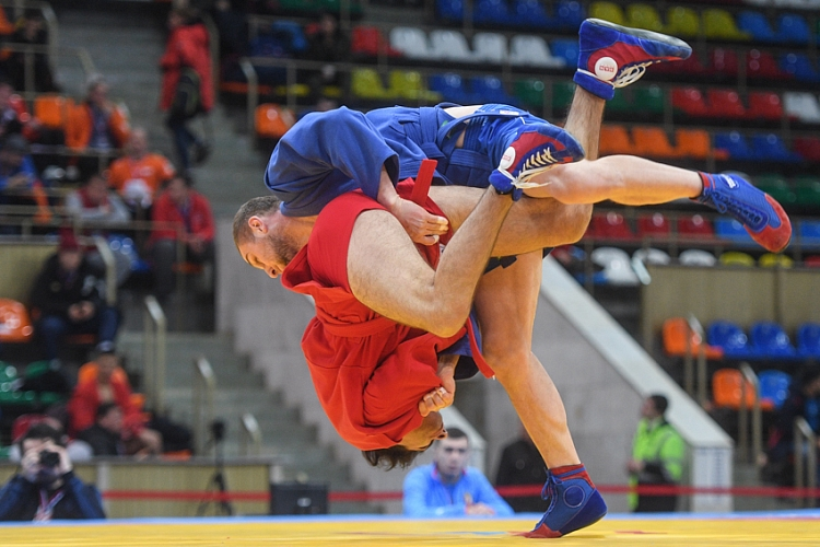 "Draw of the 2nd Day of the World SAMBO Cup ""Kharlampiev Memorial"""