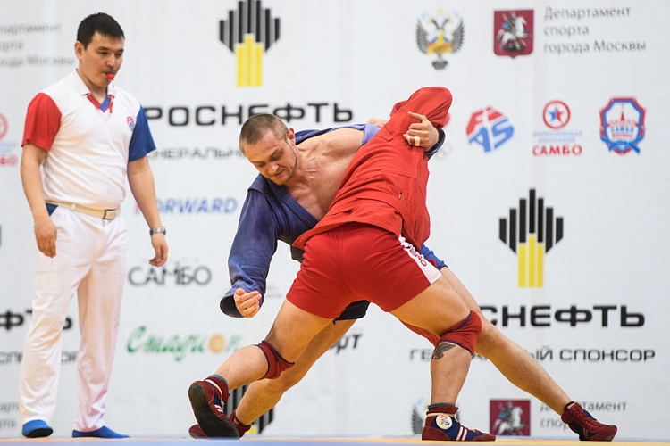 "Winners of the 2nd Day of the SAMBO World Cup ""Kharlampiev Memorial"""