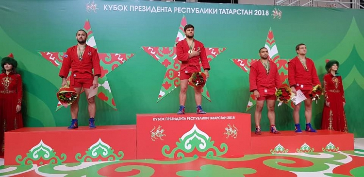 Winners of the 2nd Day of the SAMBO Cup of the President of Tatarstan