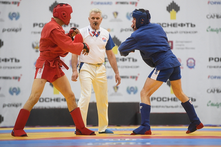 "Reflections of the Winners of the 1st Day of the ""Kharlampiev Memorial"" SAMBO World Cup"