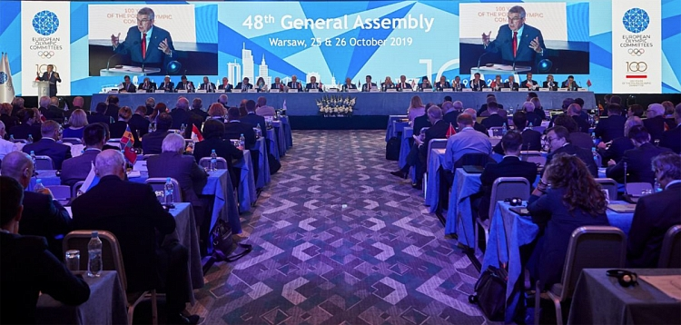 FIAS Took Part in the 48th General Assembly of the European Olympic Committees