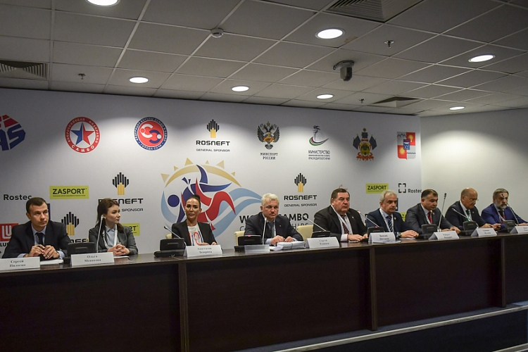 Press-Conference On The 2017 World Sambo Championships was held in Sochi