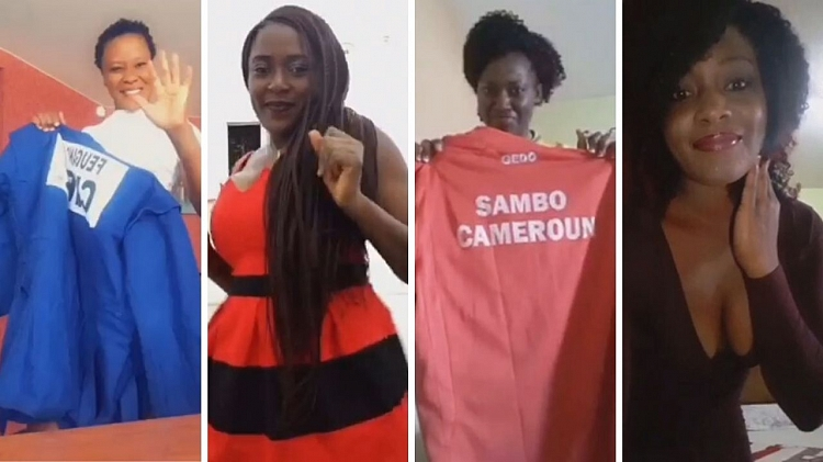 Challenge with Changing Clothes from Cameroonian SAMBO Women