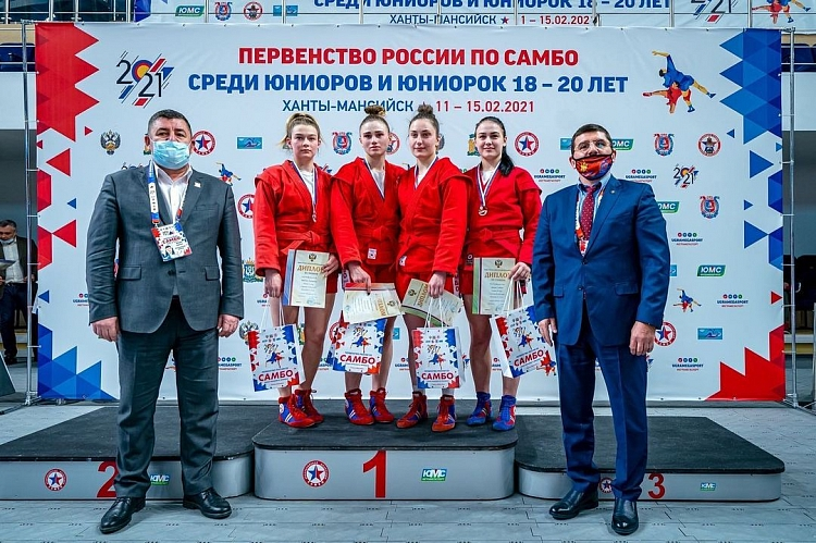 Results of the Russian Junior SAMBO Championships