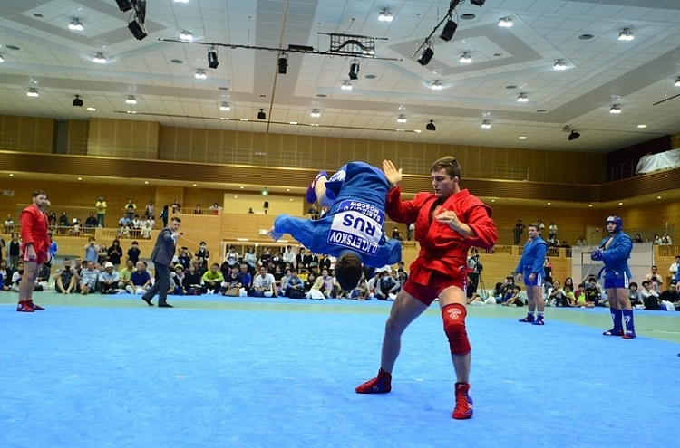 Sambists took part in Martial Arts Festival in Japan