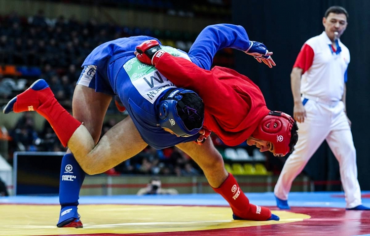 Draw of the First Day of the European SAMBO Championships