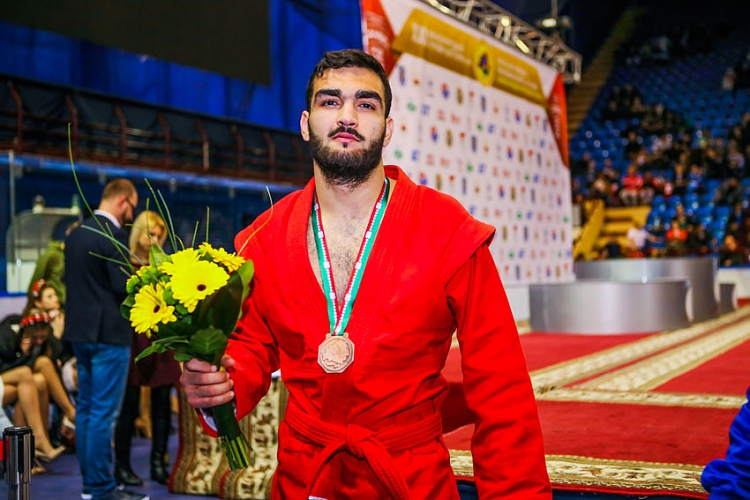 "Tariel Abbasov: ""I Became The First Israeli To Win A Medal In Combat SAMBO At International Tournament"""