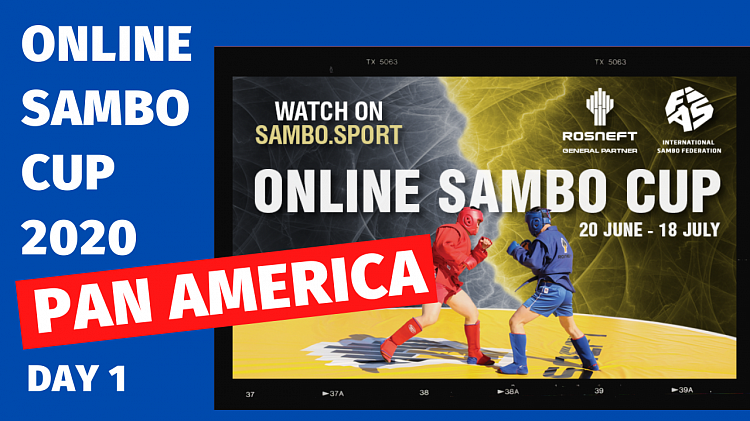 [LIVE BROADCAST] Online Sambo Cup (Pan America). Day 1
