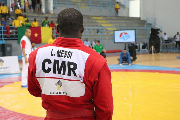 [VIDEO] SAMBO WARM UP OF THE TEAM CAMEROON