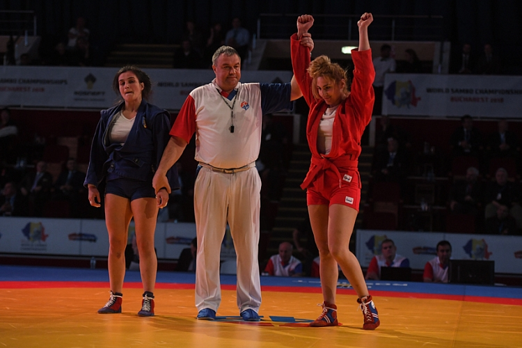 Reflections of the Prize-Winners of the 1st Day of the World SAMBO Championships in Romania