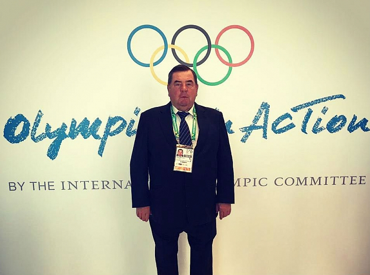 FIAS President at the Olympism in Action Forum