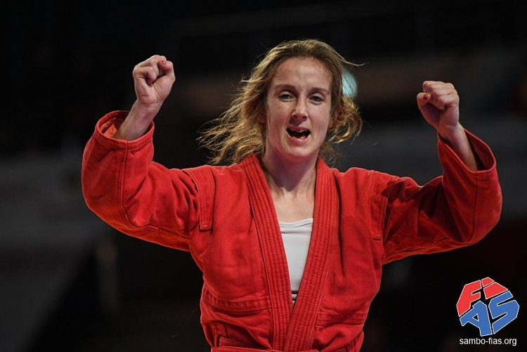 "Laure Fournier: ""IOC recognition means a lot to SAMBO athletes"""