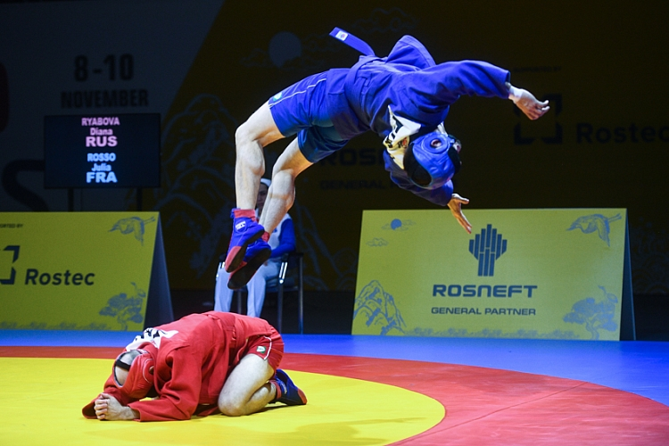 They Demonstrated and Explained: Visually Impaired Sambists Asserted Themselves at World Championships in Cheongju