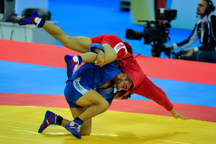 Live Broadcasting of the World Sambo Championships 2017 in Sochi. Day 2. Preliminaries