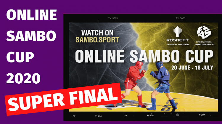 [LIVE BROADCAST] Super Final of the Online Sambo Cup