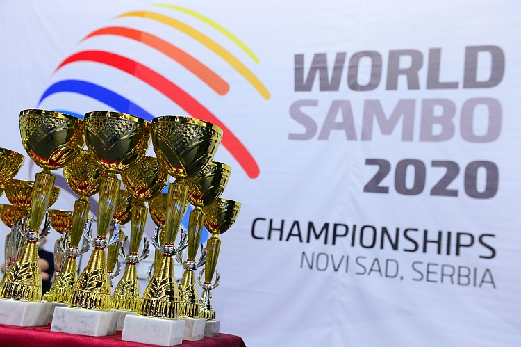 Winners of the 1st Day of the World SAMBO Championships in Serbia