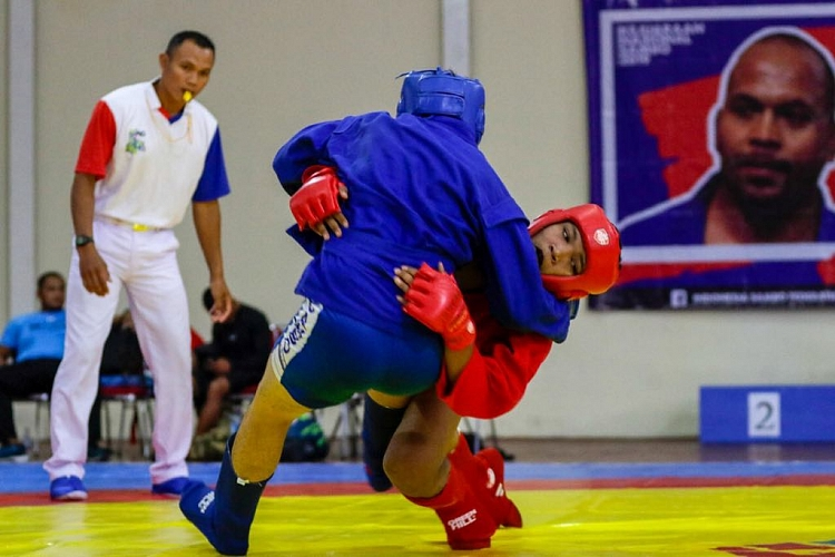 Women's Combat SAMBO at the National Indonesian Championships
