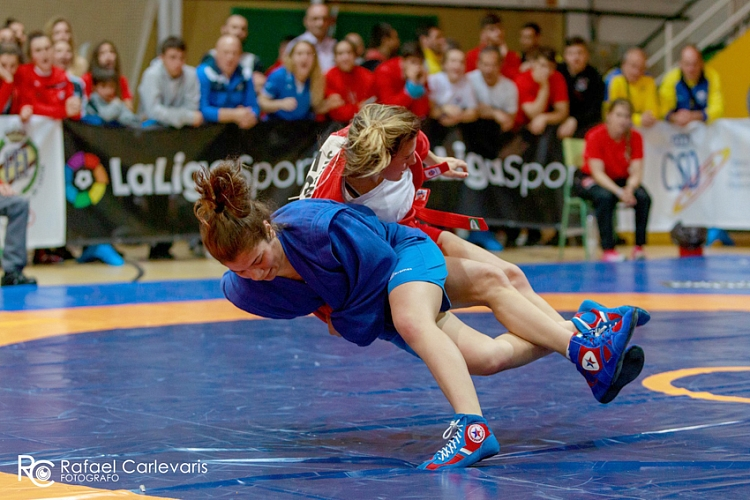 Spanish SAMBO Championships held in Madrid