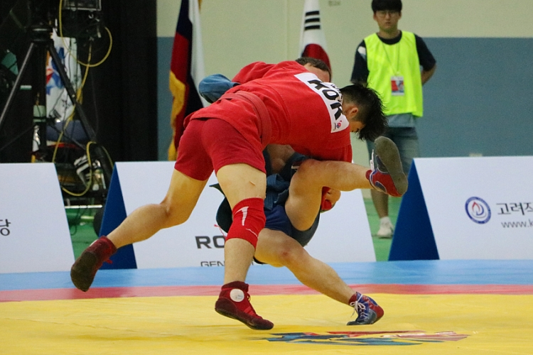 Korea SAMBO Federation plans to conduct National Championships separately by several weight categories